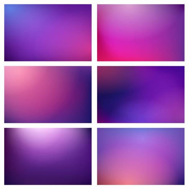 bildbanksillustrationer, clip art samt tecknat material och ikoner med oskärpa lila ljus bakgrunder - purpur