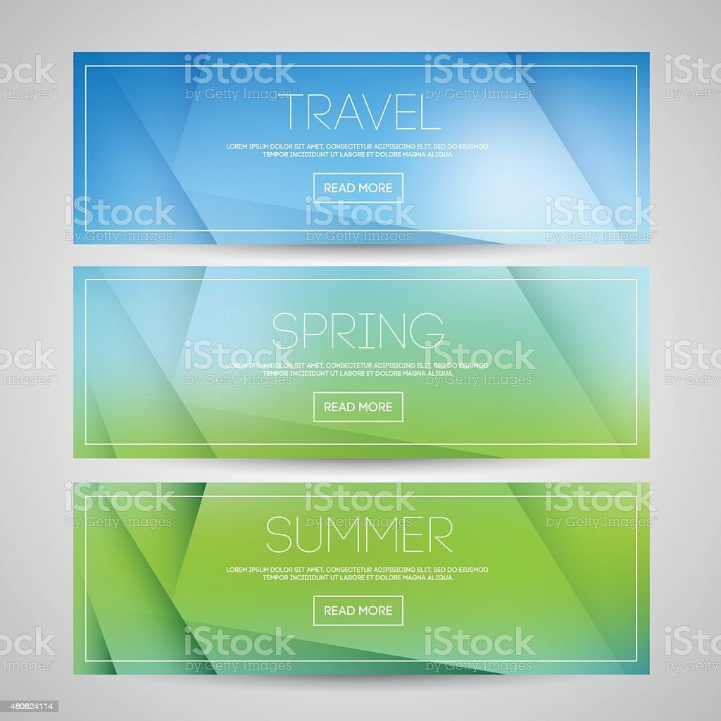 blurred background vector art illustration