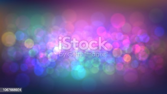 istock Blurred background with party 1067668924