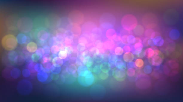 Blurred background with party Blurred abstract background with party, nightclub. Night city lights nightclub stock illustrations