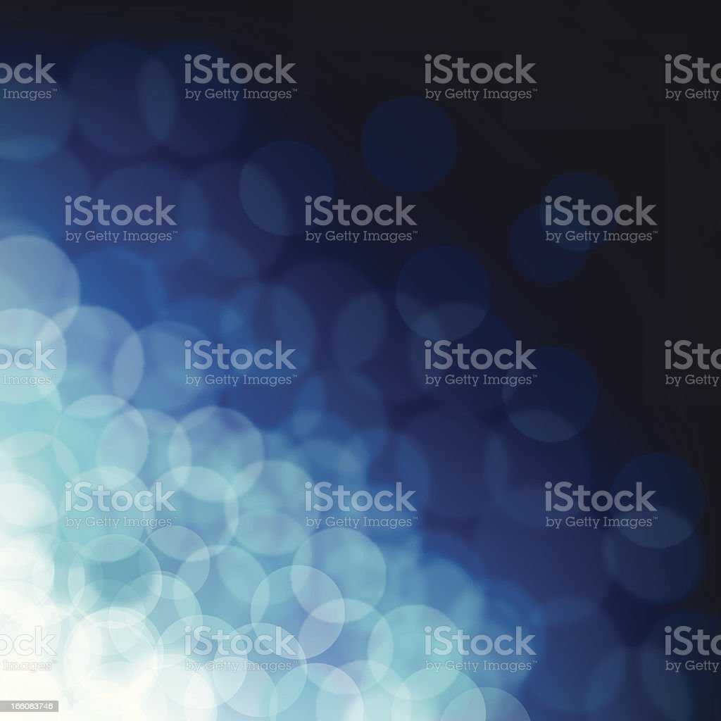 Blurred blue sparkles royalty-free stock vector art
