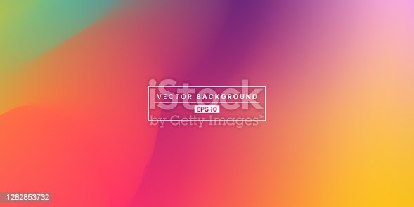 istock Blurred Gradient Background. Abstract design template for brochures, flyers, magazine, banners, headers, book covers, notebooks background vector stock illustration 1282853732