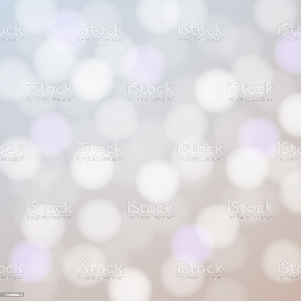 Blurred lights abstract vector. vector art illustration