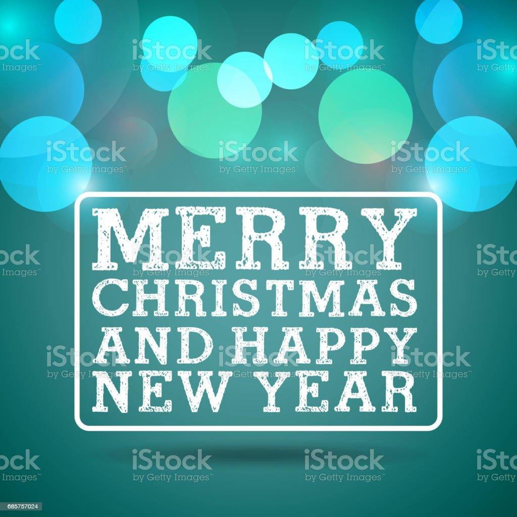 blurred lights icon. Merry Christmas design. Vector graphic blurred lights icon merry christmas design vector graphic - immagini vettoriali stock e altre immagini di agrifoglio royalty-free