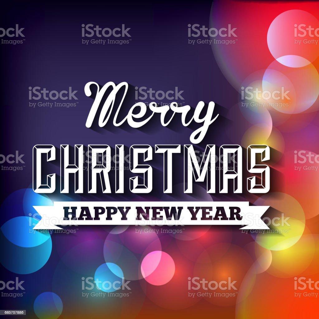 blurred lights icon. Merry Christmas design. Vector graphic royalty free blurred lights icon merry christmas design vector graphic stockvectorkunst en meer beelden van bedekken