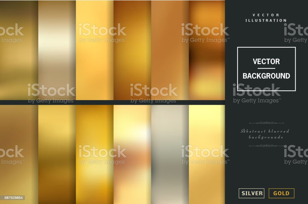 Blurred vector backgrounds. ベクターアートイラスト