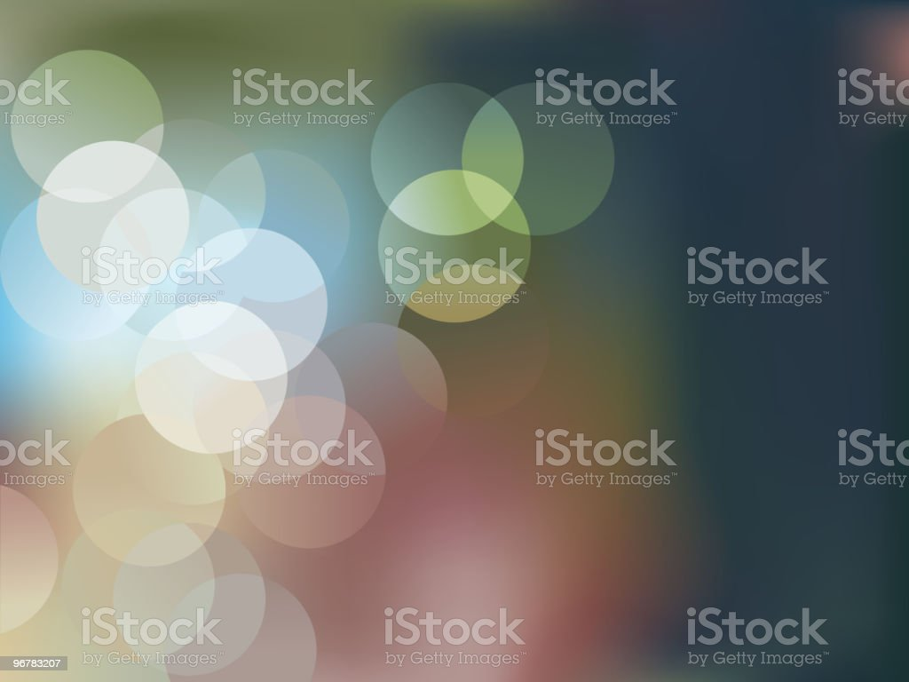 Blurry Background -Light royalty-free stock vector art