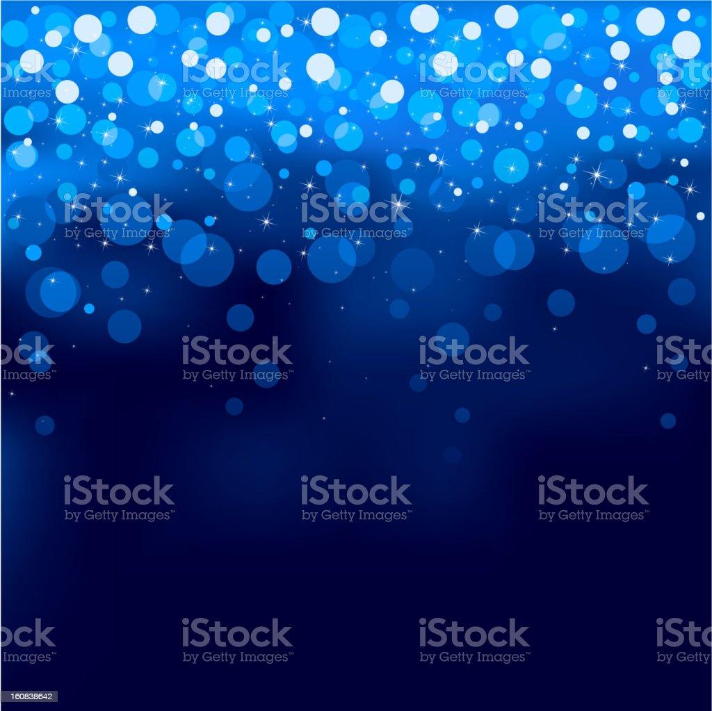 Blurry lights royalty-free stock vector art
