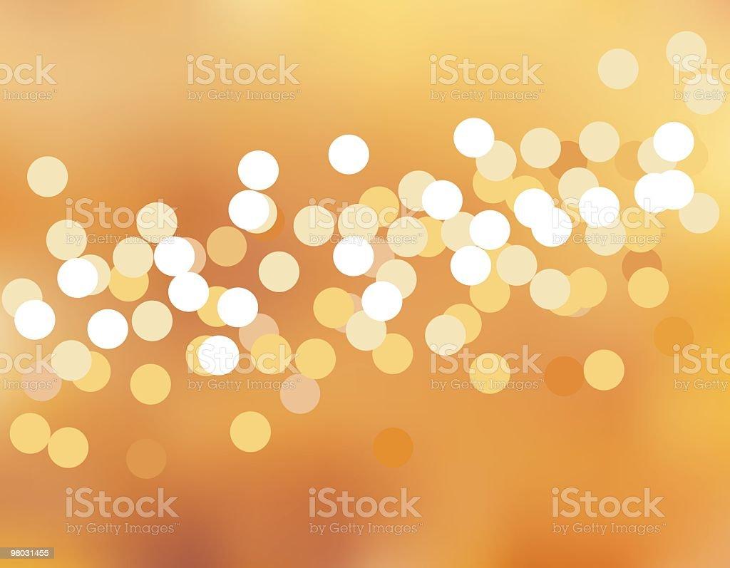 Sfocate luci sfocate luci - immagini vettoriali stock e altre immagini di arancione royalty-free