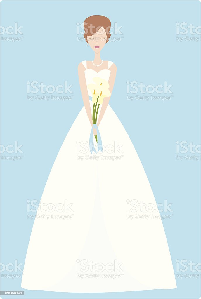 Blushing Bride royalty-free blushing bride stock vector art & more images of beauty