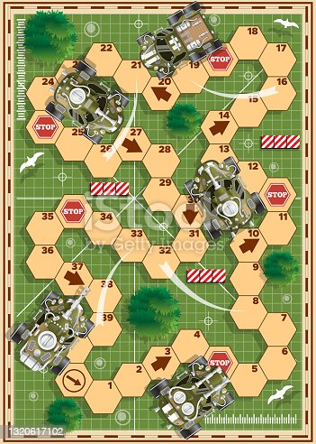 istock Board game with a military theme. 1320617102