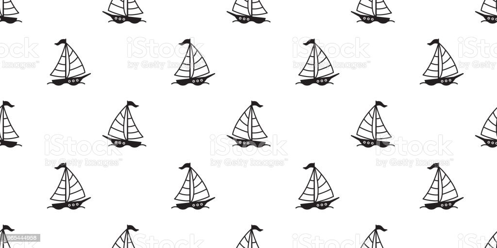 boat seamless pattern yacht sailboat anchor helm maritime Nautical tropical isolated background wallpaper royalty-free boat seamless pattern yacht sailboat anchor helm maritime nautical tropical isolated background wallpaper stock vector art & more images of antique