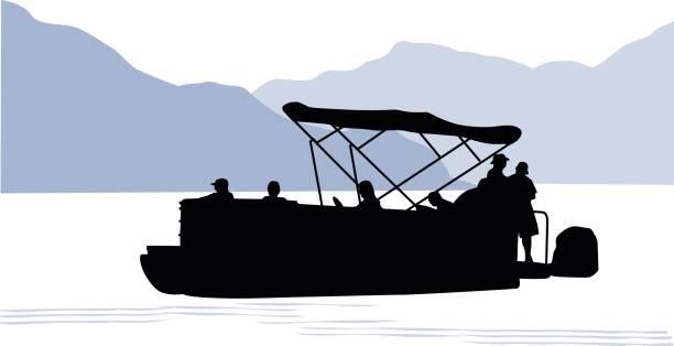 Popular Royalty Free Pontoon Boat Clip Art, Vector Images & Illustrations  WB63