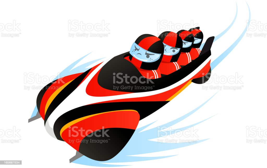 bobsledding royalty-free bobsledding stock vector art & more images of athlete