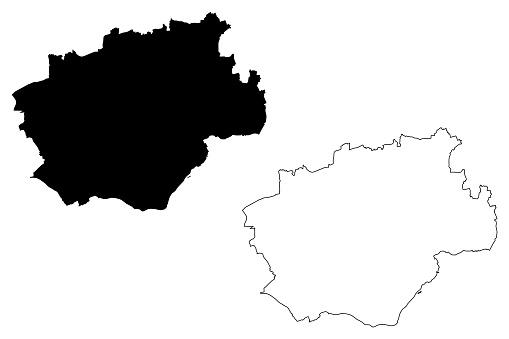 Bochum City map