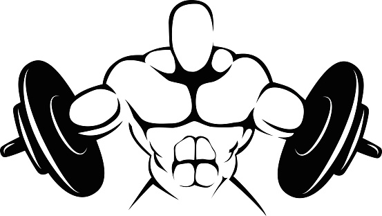 Body building symbol