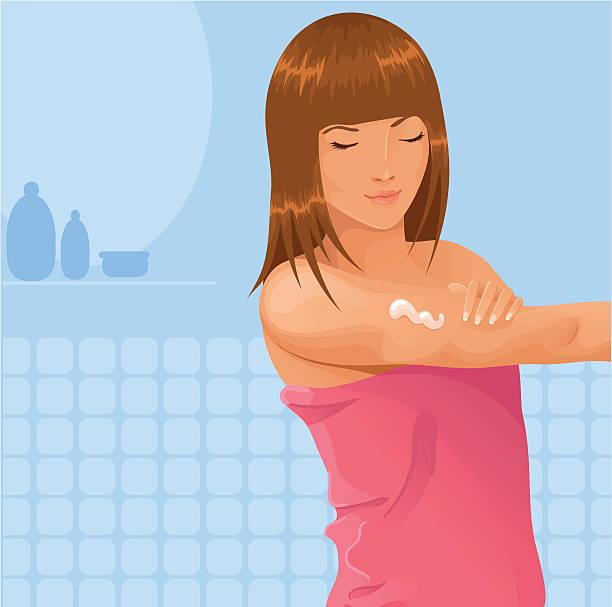Body lotion vector art illustration