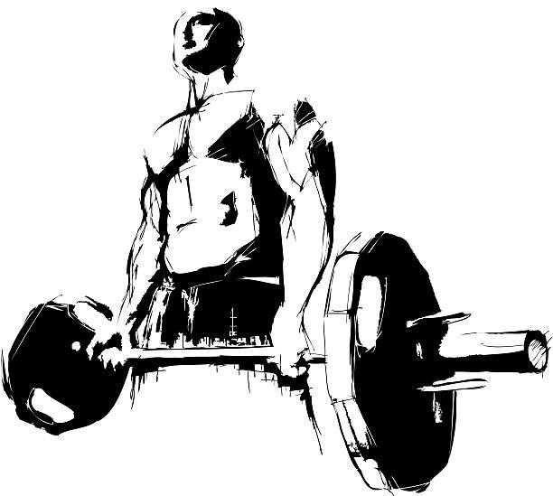 bodybuilder ベクターアートイラスト