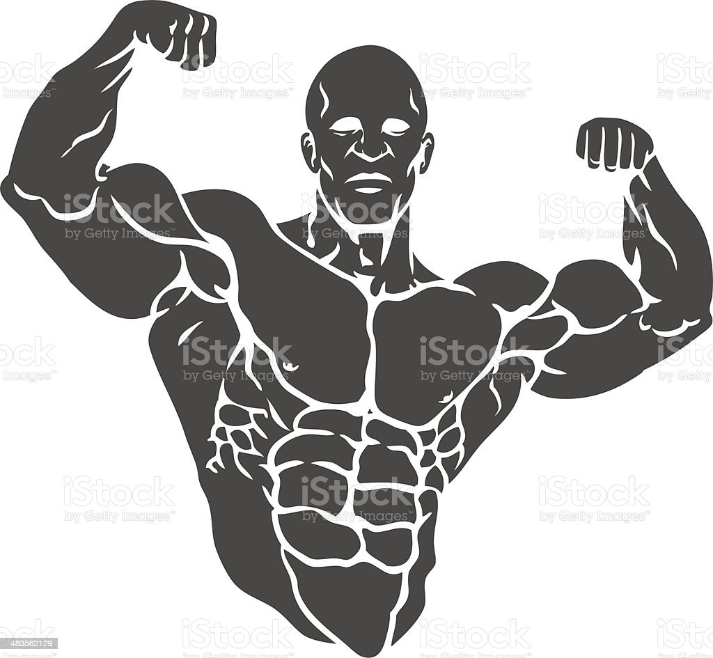 royalty free body building clip art  vector images Female Weight Lifting Clip Art Girl Lifting Weights Clip Art