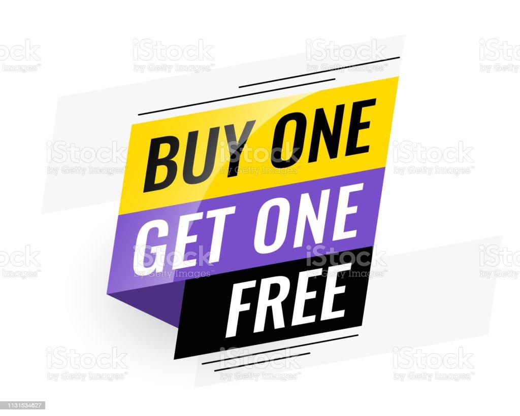 dcaac48facf9de Bogo (koop er een te krijgen) gratis te koop banner royalty free bogo gratis