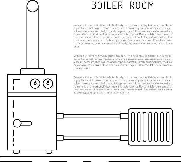 boiler room equipment - kondensation stock-grafiken, -clipart, -cartoons und -symbole