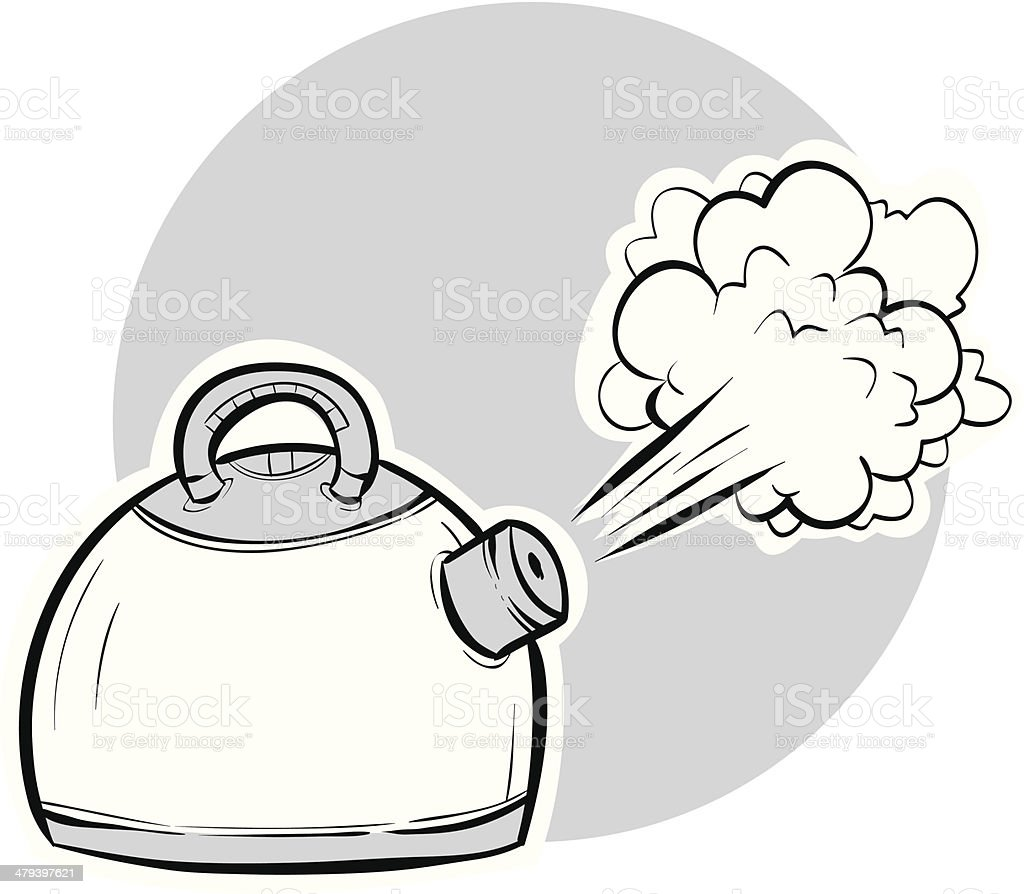 Boiling Kettle royalty-free boiling kettle stock vector art & more images of boiling