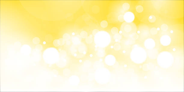 bokeh background - yellow stock illustrations
