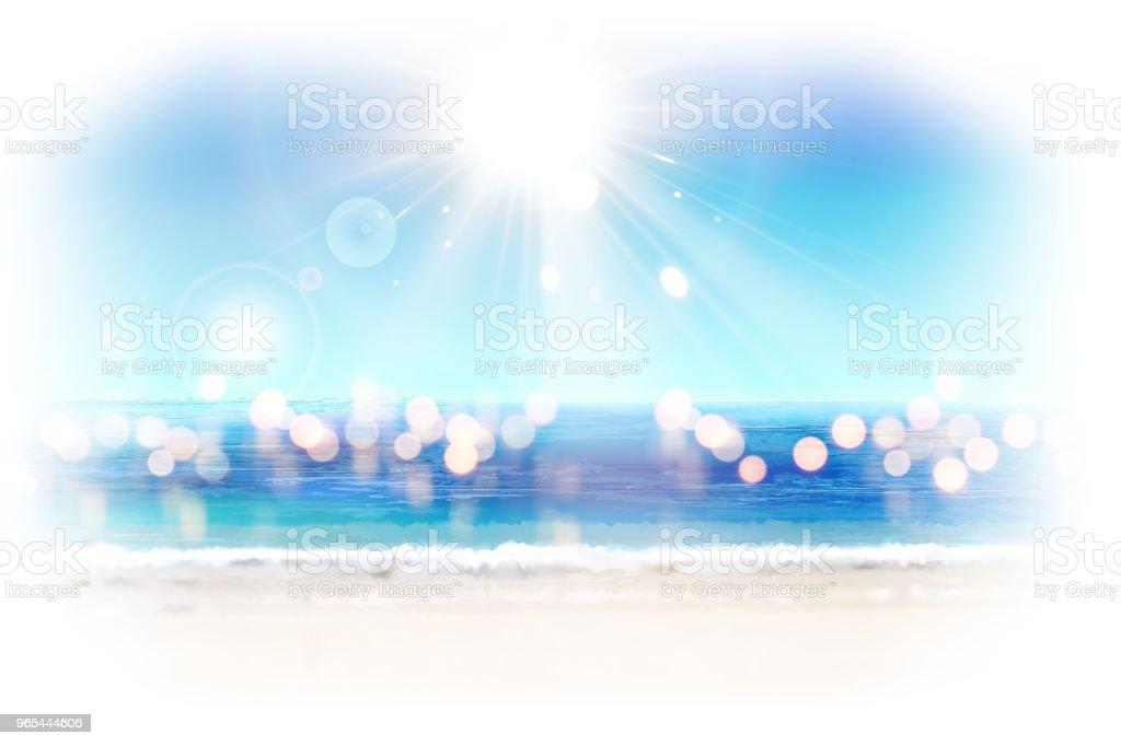 Bokeh glitter ocean resort bokeh glitter ocean resort - stockowe grafiki wektorowe i więcej obrazów abstrakcja royalty-free