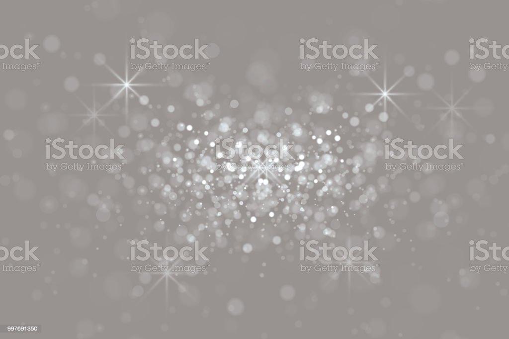 Bokeh Light grey Background