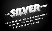 Stylized modern bold alphabet design