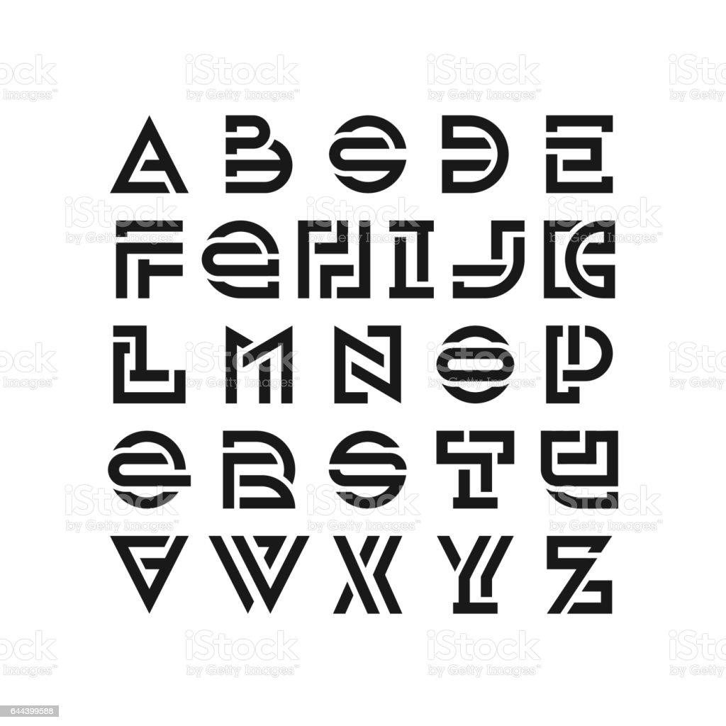 Alphabet Alphabetical Order Capital Letter Latin Script