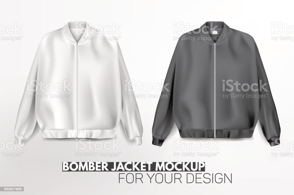Royalty Free Bomber Jacket Clip Art Vector Images Illustrations