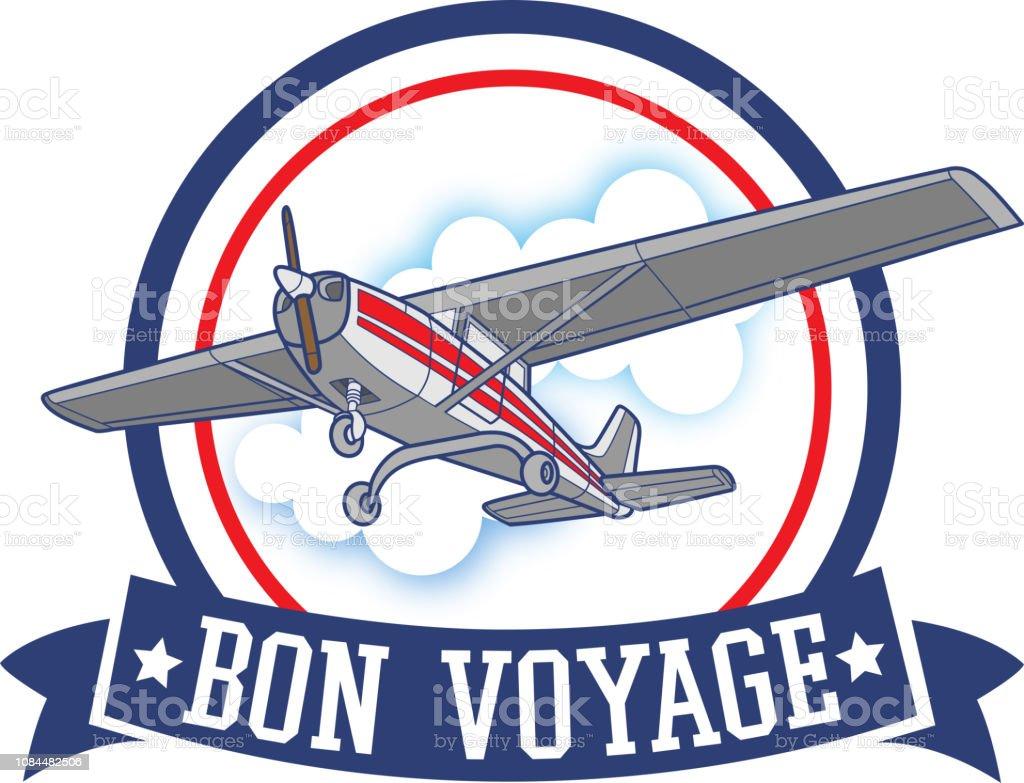 Bon Voyage - Illustration vectorielle
