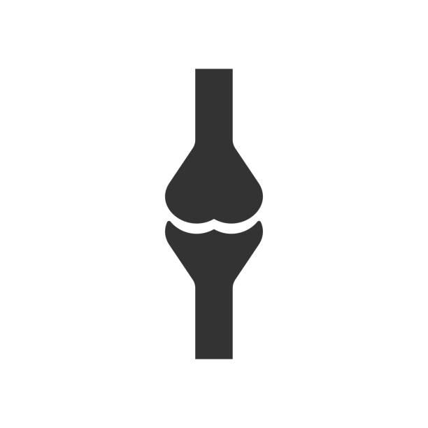 Knochen Ikone. Vector Illustration. Orgel-Ikonenvektor. – Vektorgrafik