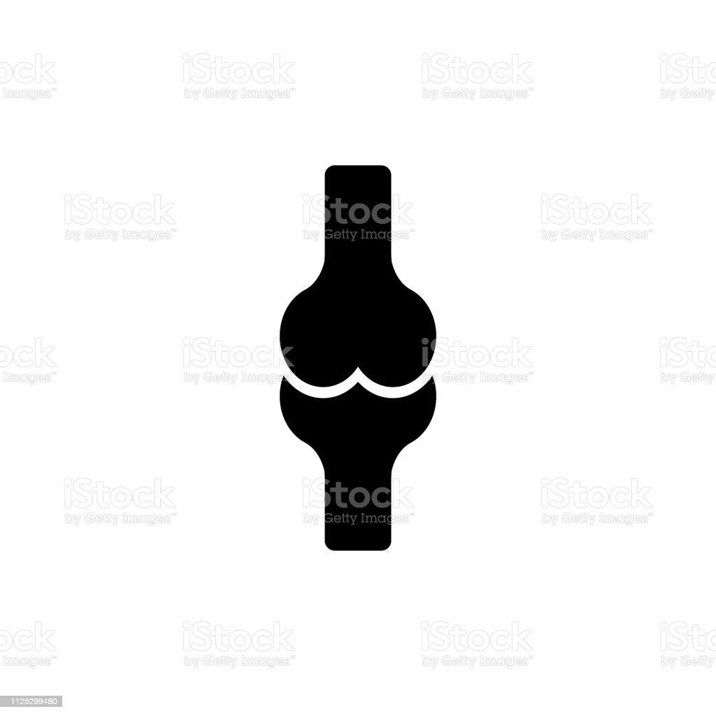 Icono de vector conjunto de huesos - ilustración de arte vectorial