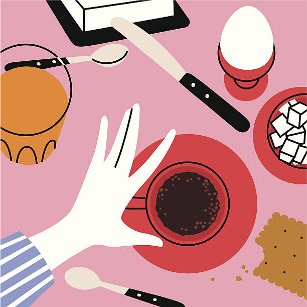 bonjour ます。 - 朝食点のイラスト素材/クリップアート素材/マンガ素材/アイコン素材
