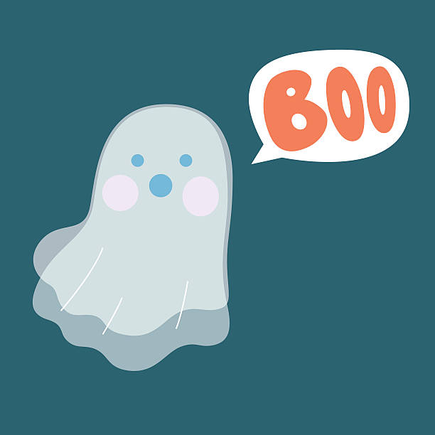 boo ghost - surprise stock illustrations