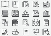 Book and Read Line icons