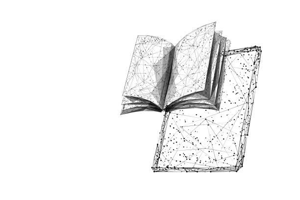 Buch und Tablet LP BL – Vektorgrafik