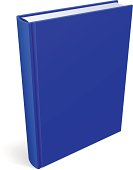 Book Blank Blue Cover