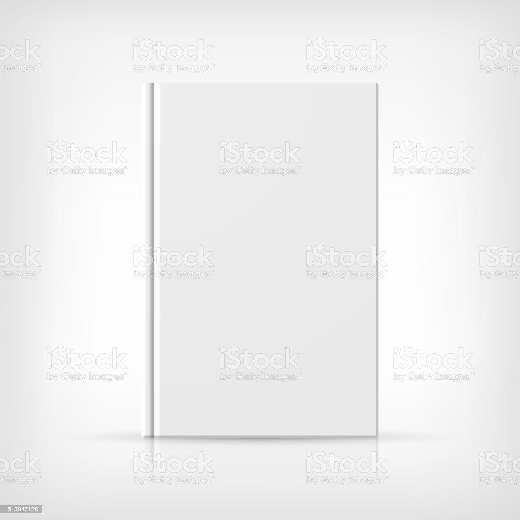 Book Cover vector art illustration