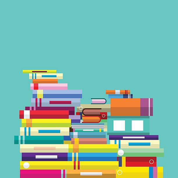book education concept - ilustración de arte vectorial