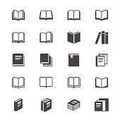 Book flat icons