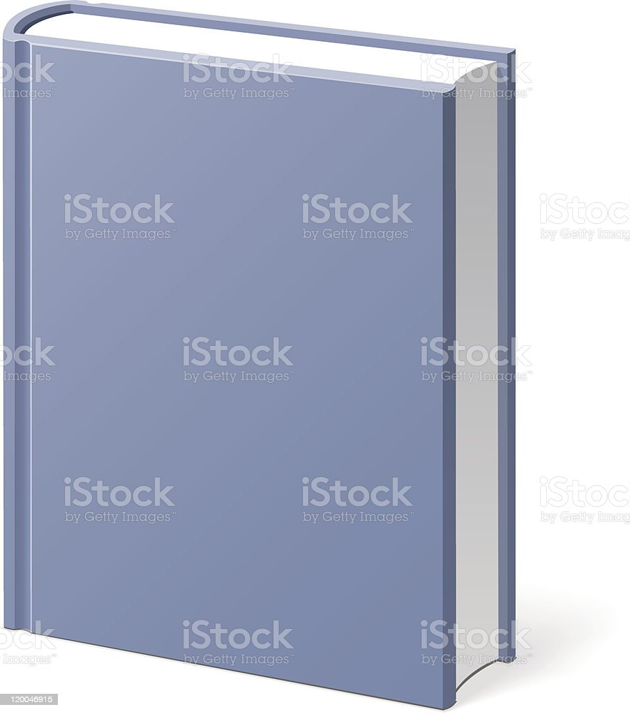 Book Gray Isolated royalty-free stock vector art