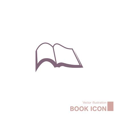 Book icon design.