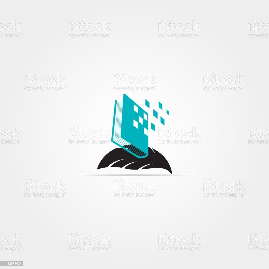 Book icon template,vector