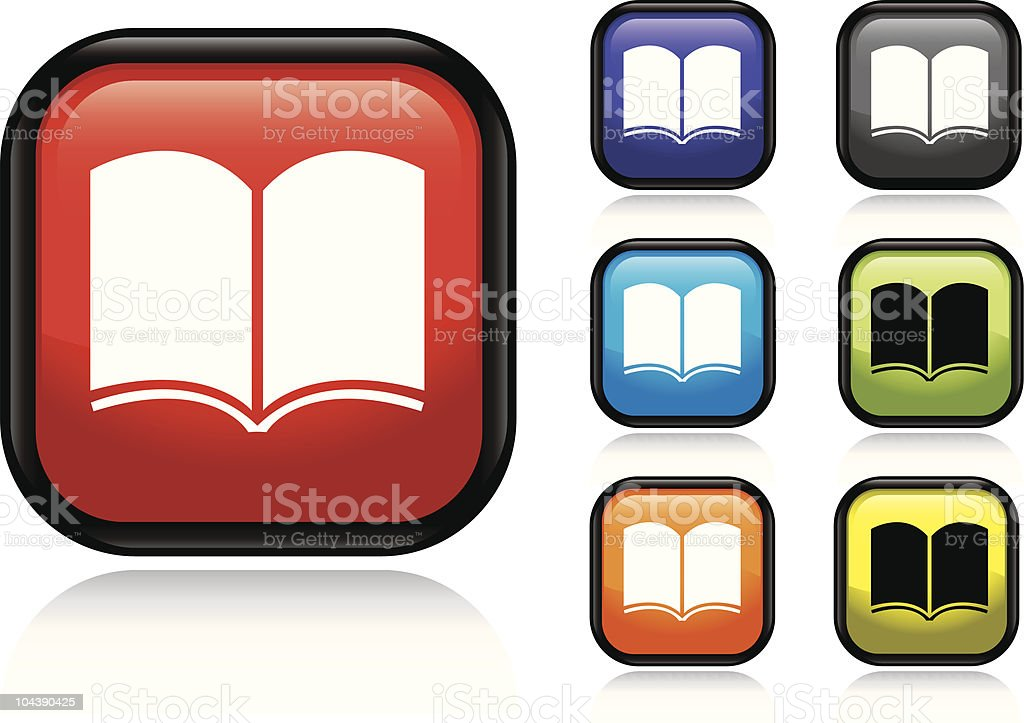 Book Icon royalty-free book icon stock vector art & more images of black color