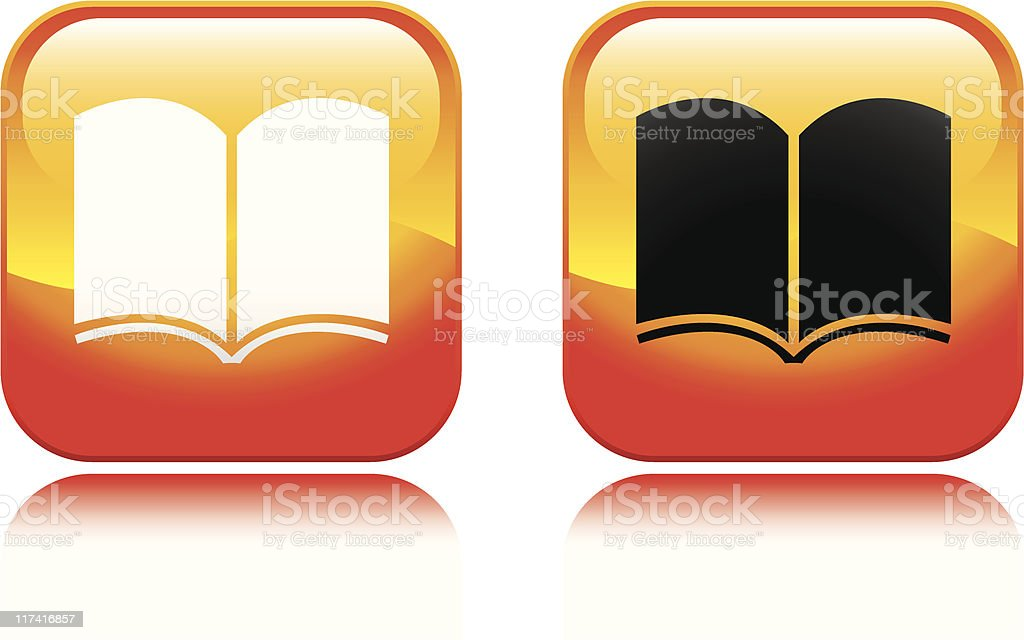 Book Icon royalty-free stock vector art