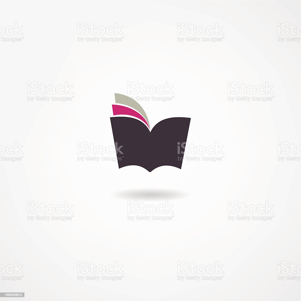 book icon royalty-free book icon stock vector art & more images of abstract