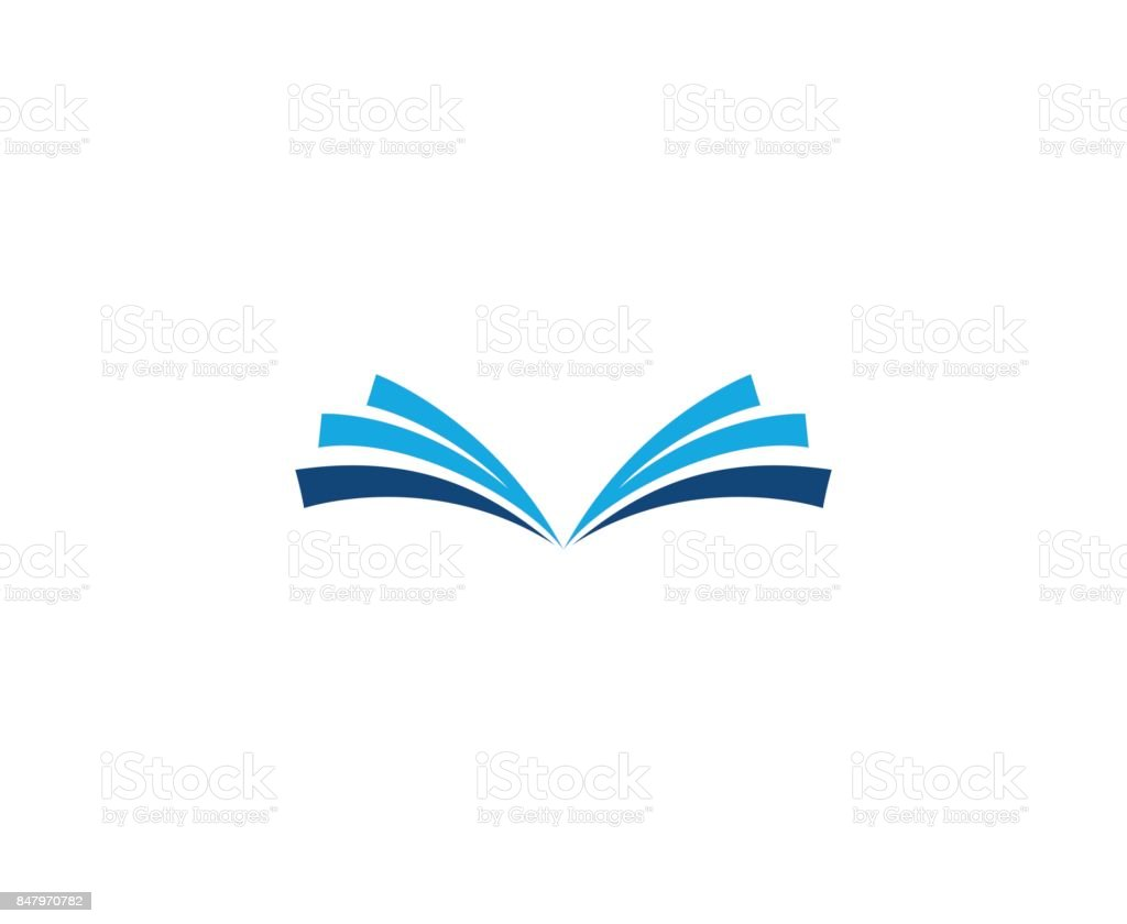 Book icon vector art illustration